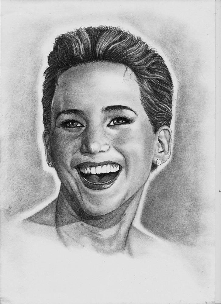 Jennifer Lawrence by Exalion